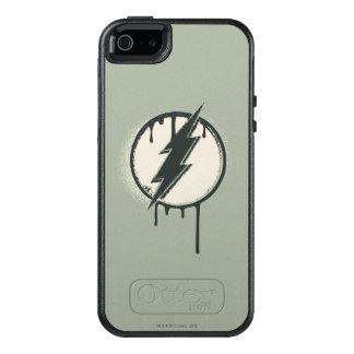Flash Bolt Paint Grunge OtterBox iPhone 5/5s/SE Case
