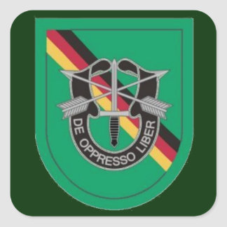 Flash DUI Special Forces Det Europe Stickers