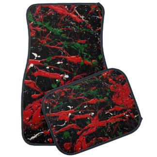 FLASH FIRE (an abstract art design) ~ Floor Mat