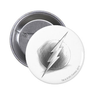 Flash Insignia Pinback Buttons