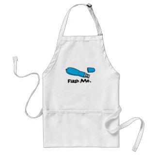 flash me flash drive design standard apron