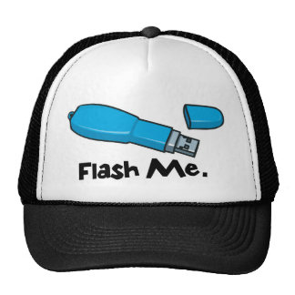 flash me flash drive design cap