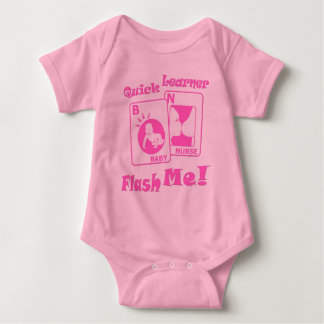Flash Me Funny Baby Clothes Bodysuit Creeper