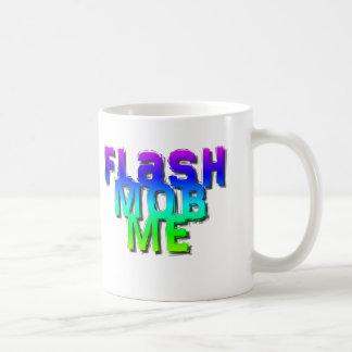 Flash mob me basic white mug
