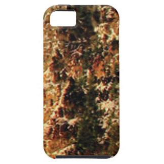 flash of rough yellow stones iPhone 5 case