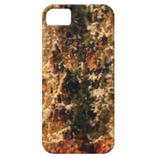 flash of rough yellow stones iPhone 5 cases