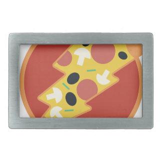 Flash Pizza Belt Buckle