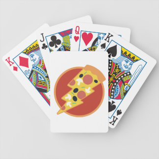 Flash Pizza Bicycle Playing Cards