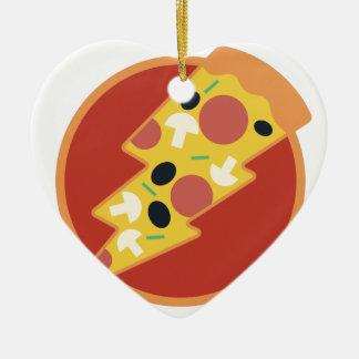 Flash Pizza Ceramic Ornament