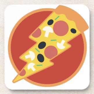 Flash Pizza Coaster