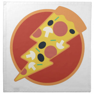 Flash Pizza Napkin