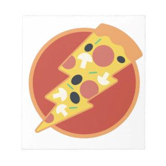 Flash Pizza Notepad