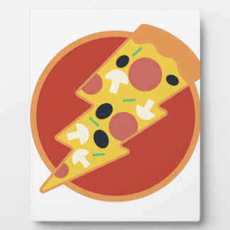 Flash Pizza Plaque
