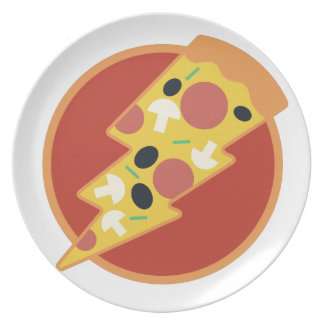 Flash Pizza Plate