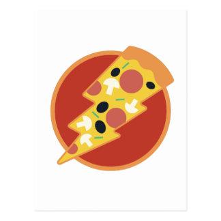 Flash Pizza Postcard