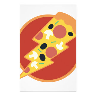 Flash Pizza Stationery