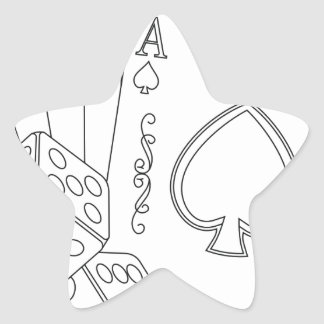 flash royal star sticker