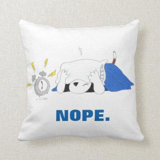 Flash Series NOPE pillow