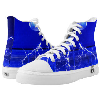 Flash Tesla Coil... High Tops