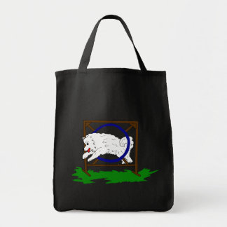 Flash the Samoyed Tote Bag