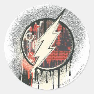 Flash - Twisted Innocence Symbol Round Sticker