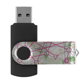 Flash USB - Orienteering course USB Flash Drive