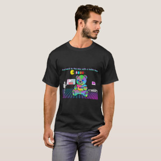 Flashback to the 80s with a teddy bear T-Shirt