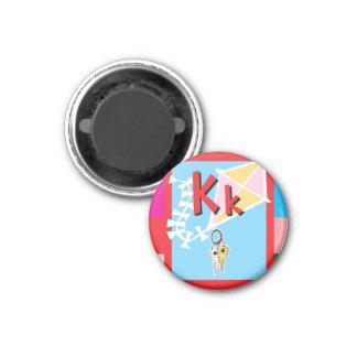 FlashCard 3 Cm Round Magnet