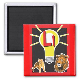 FlashCard Square Magnet