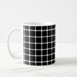 Flashing Dots Illusion Coffee Mug