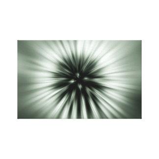 Flashing seed flight canvas print