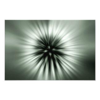 Flashing seed flight photo print