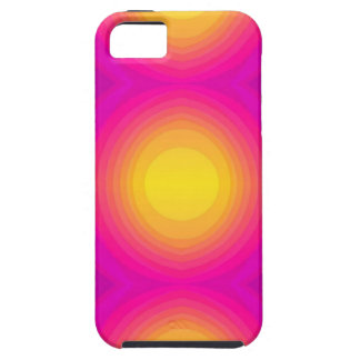 Flashy 70s pink iPhone 5 case