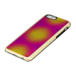 flashy 70s,pink. incipio feather® shine iPhone 6 case