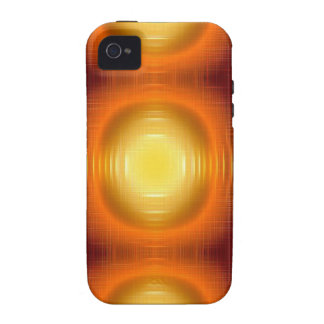 Flashy 70s,red vibe iPhone 4 cases