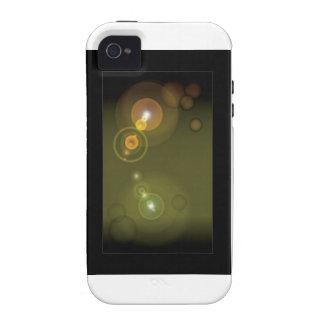 Flashy Background - 1 iPhone 4 Case