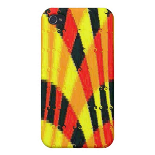 FLASHY BRIGHT PLASTIC i PHONE COVER iPhone 4/4S Covers