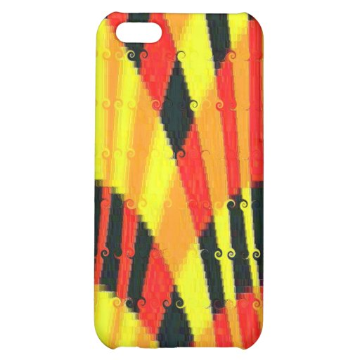 FLASHY BRIGHT PLASTIC i PHONE COVER iPhone 5C Case