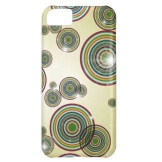 Flashy Color Circles iPhone Case iPhone 5C Covers
