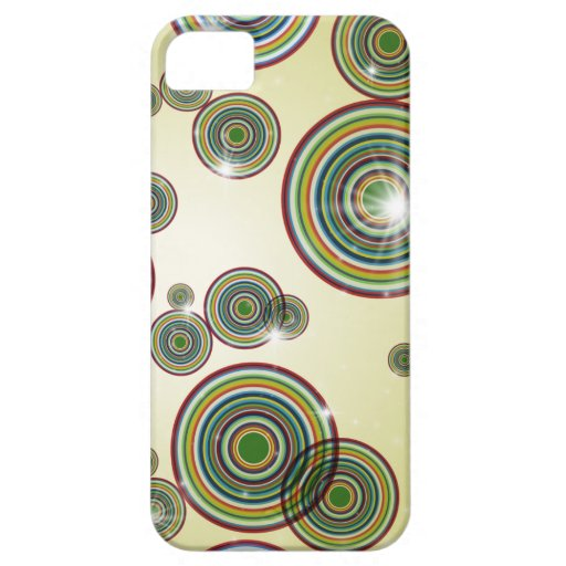 Flashy Color Circles iPhone Case iPhone 5 Covers