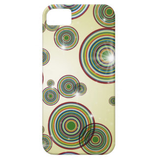 Flashy Color Circles iPhone Case iPhone 5 Cover