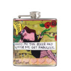 FLASK-HAND ME THE BOOZE AND WATCH ME HIP FLASK