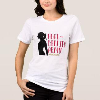 """Flat Bellied Army"" Sisterhood T-Shirt"