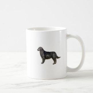 Flat Coat Retriever Basic White Mug