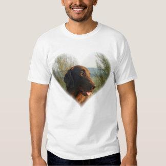 Flat Coated Retriever beautiful mens t-shirt
