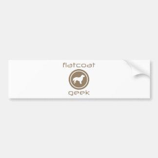 Flat-Coated Retriever Bumper Sticker