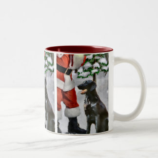 Flat-Coated Retriever Christmas Gifts Coffee Mug