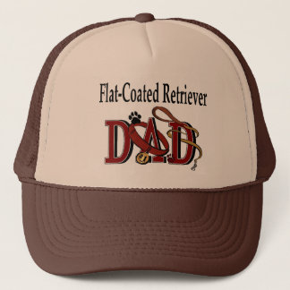 Flat-Coated Retriever Dad Gifts Trucker Hat