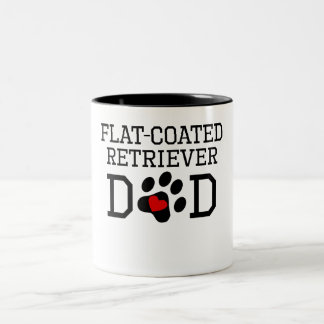 Flat-Coated Retriever Dad Coffee Mug