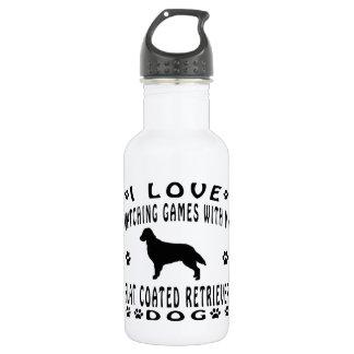 Flat-Coated Retriever designs 532 Ml Water Bottle